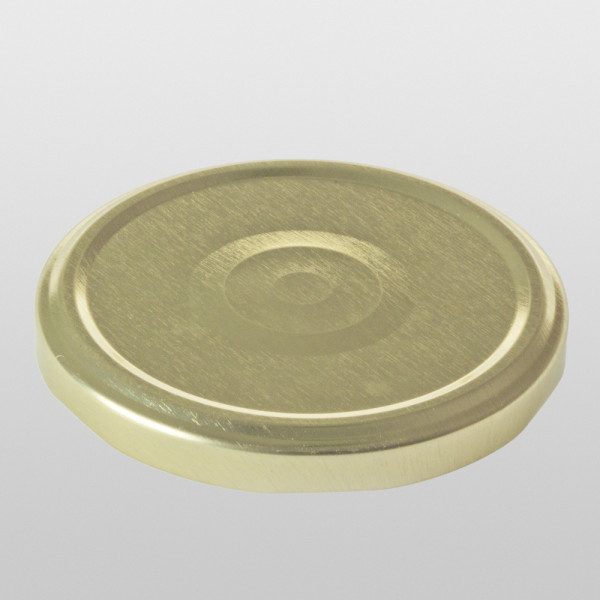Twist-Off-Verschluss 82 mm Gold steril Button