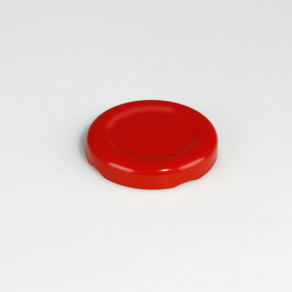 Twist-Off-Verschluss 43 mm rot past